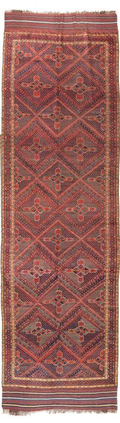 Ersari Beshir 590 x 177 cm (19ft. 4in. x 5ft. 10in.) Turkmenistan second half 19th century