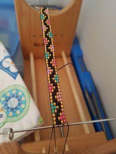 Skinny Bead Loom Bracelet