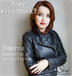 Drogie Panie, mamy dla Was prawdziwą niespodziankę! Już 5 marca do She zawita ceniona w świecie mediów specjalistka ds. wizerunku - Justyna Qunio. Do waszej dyspozycji będzie w godzinach 11:00-19:00. Godzinna konsultacja - 99 zł 2-godzinna konsultacja z omówieniem przyniesionej przez Was garderoby - 149 zł Serdecznie zapraszamy!  #wizerunek #konsultacje #stylistka #moda #fashion