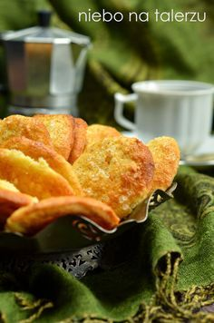 niebo na talerzu: Błyskawiczne ciasteczka kokosowe do kawy