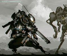 Gatling Slinger by benedickbana.deviantart.com on @DeviantArt