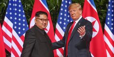 Trump confirms details of second summit with North Korea, touting its potential as 'economic powerhouse' In this June. file photo, President Trump poses with North Korean leader Kim Jong Un on Sentosa Island, in Singapore. Lindsey Vonn, Trip To North Korea, South Korea, North Korea Kim, Donald Trump, Elizabeth Warren, Kim Jong Un, Kim And North, Vietnam