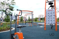 Urban Play provide complete playground solutions with ✓ Equipment ✓ Furniture ✓ Shade & ✓ Rubber Softfall services. Contact us for a FREE design and quote. Outdoor Gym, Outdoor Workouts, Outdoor Fitness Equipment, No Equipment Workout, Public Space Design, Playground Design, New City, Civil Engineering, Free Design