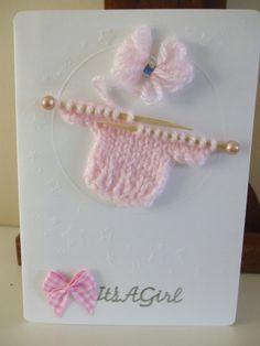 New Baby Girl Card £2.50