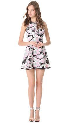 Tibi Isosceles Sleeveless Dress....cute.