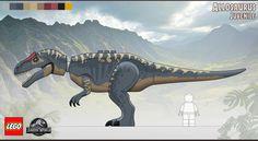 Lego Jurassic World, Jurassic World Fallen Kingdom, Lego Dinosaur, Falling Kingdoms, Kawaii, Concept Art, Creations, Toys, Building