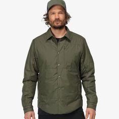 Norrøna oslo Insulated Shacket for men Oslo, Shirt Style, Bomber Jacket, Jackets, Shirts, Men, Fashion, Down Jackets, Moda