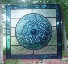 How would I incorporate a vintage plate into stained glass piece? I am attaching a sample of something that I would like to try. I have read from some Stained Glass Designs, Stained Glass Panels, Stained Glass Projects, Stained Glass Patterns, Leaded Glass, Stained Glass Art, Mosaic Glass, Fused Glass, Mosaic Designs