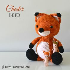 Chester the Fox - pattern by littlemuggles (Etsy)