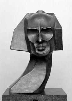 William Wauer :: Bust of Herwarth Walden, 1917