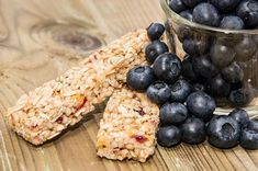Banana Blueberry Bars are SO GOOD!  #banana #blueberry #bars