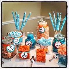 I'm obsessed with the Candy Bar & totally want it for little man's shower!