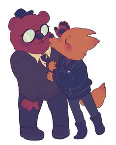 the lovely bois !!!!! | Night in the Woods | art