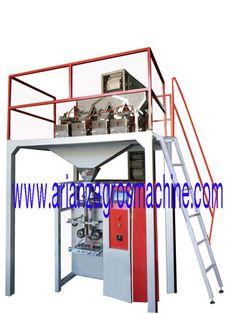 ماشین سازی آریان زاگرس سازنده دستگاه بسته بندی و خطوط صنایع غذایی