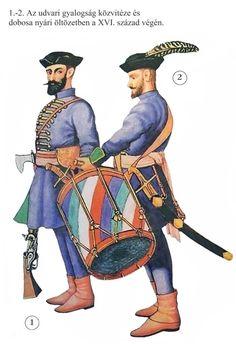 Transylvanian Kék Darabontok, late 16th century