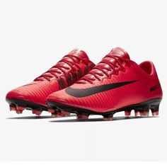 detailed look fa604 1c04c Nike Mercurial Vapor XI FG Mens Soccer Cleats (University Red Fire)  men  ssocceruniversities
