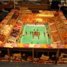The only problem with building your own epic meat stadium for a World Cup party is that your friends will expect you to make another one for the next Super Bowl.