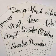 Beautiful calendar download from April Joy. . .