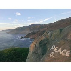 bring peace with you #bhavanize (BigSur, #CA) // www.thefourlight.com