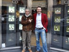 Boutique Chronopassion and Laurent Picciotto, Rue Sant-Honoré in Paris. Carrousels showcases celebrating their 4th year with success.