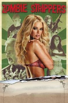 Zombie Strippers Movie Poster Puzzle Fun-Size 120 pcs