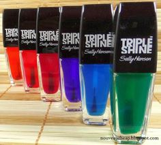 Review & Swatches: Sally Hansen Summer 2014 Limited Edition Palm Beach Jellies Triple Shine Collection
