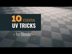 10 Essential UV Tips and Tricks | Blender Tutorial - YouTube