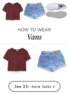 """""""you used to be thirsty for me / but now you wanna be set free"""" by danceratheart on Polyvore featuring MANGO, Levi's, Vans and leahs2kiconcontest"""