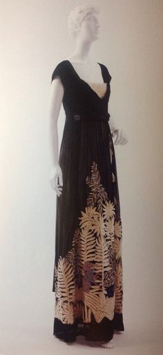 """Paul Poiret, """"Homage a Rousseau"""" c. 1910--four years after the photo to the right."""