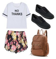 """School outfit"" by madisenharris on Polyvore"