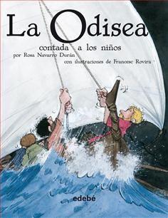 En este bellísimo relato se narran las aventuras que vive Ulises navegando por el mar Mediterráneo. Enormes tempestades azotan su nave porque...