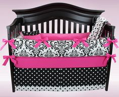 EVELYN 5 piece bedding set  Custom baby by BloomingBabyBedding