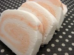 Solid bubble bath bar- these look just like the bars I get at Lush! (I read somewhere that you should break the bars up and add 1 ounce at a time to the running water. If needed add another ounce until you see how much you prefer. - Deb)