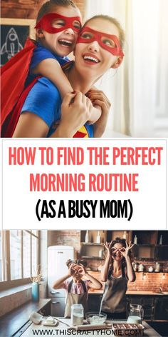 Learn how to create your own personal routine as a busy mom. Being a parent can be stressful. Find out how to be more productive in your mornings with kids! Check it out now! Good Parenting, Parenting Hacks, Block Scheduling, Stay At Home Mom, Second Baby, Self Care Routine, Breastfeeding Tips, New Moms, Baby Food Recipes