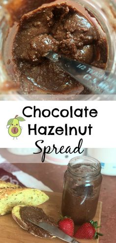 My healthier alternative to store bought Chocolate Hazelnut spread. The kiddos go crazy for this stuff. It's definitely a staple in our house! New Recipes, Sweet Recipes, Whole Food Recipes, How To Roast Hazelnuts, High Fat Foods, Hazelnut Spread, Chocolate Hazelnut, Cooking Time, Food Processor Recipes