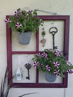 Decorate with an old window! 20 creative ways to inspire you … – S … - Diy Garden Projects Garden Deco, Garden Art, Garden Design, Diy Garden, Rocks Garden, Garden Club, Garden Projects, Diy Projects, Project Ideas