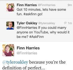 Finn Harries jacksgap YouTube Tyler Oakley