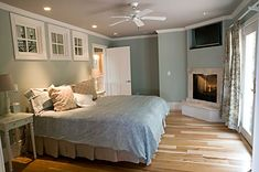 There will be a fire place in the master bedroom.  Because its pretty and lovely.