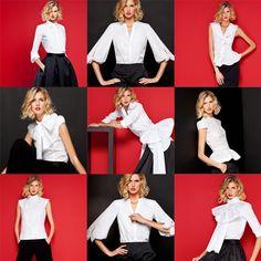 Camisa blanca es la prenda que no falla según Carolina Herrera