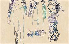 Bilderesultat for tattooed princess mummy