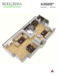 SOLD Main floor: 21-2615 Fortress Drive, Citadel, Port Coquitlam MLS R2043468 $599,000