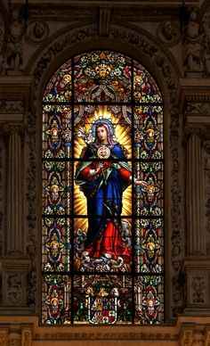 Immaculate Heart of Virgin Mary, choir of Cathedral of Cordoba, Spain  Mary Queen of Heaven, pray for us!