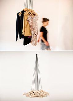 Alice Rosignoli's hangers - idea for DIY project