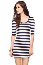 Little stripe dress; a key piece