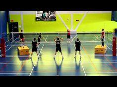 Volleyball Source: Blocking Progression Drill English - YouTube