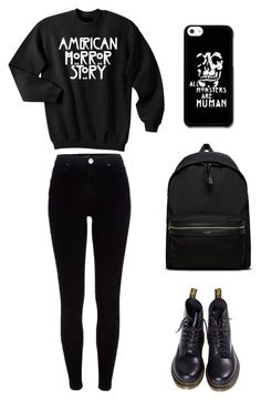 """American Horror Story Back To School Outfit"" by whispers-in-the-dark01 on Polyvore"
