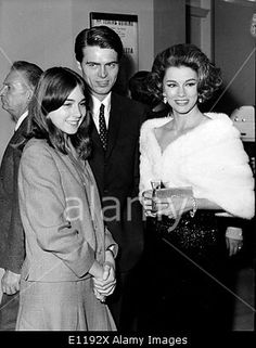 Download this stock image: Linda Christian, Romina Power and Douglas Travis theatre - E1192X from Alamy's library of millions of high resolution stock photos, Stock Photo, illustrations and vectors.