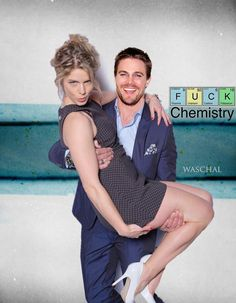 """@Waschal: I love this picture. I had to do a it #Stemily #Olicity #Arrow "" urloooooo che cosa bella•"