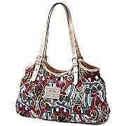nicole by Nicole Miller® Bella Shopper Handbag.    I was out earlier today and saw this bag.  Its really cute and has a lot of space inside but its also organized.  this is on my wish list for sure lol!