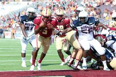 Boston College Eagles Make Most of 76-0 Rout - Today's U